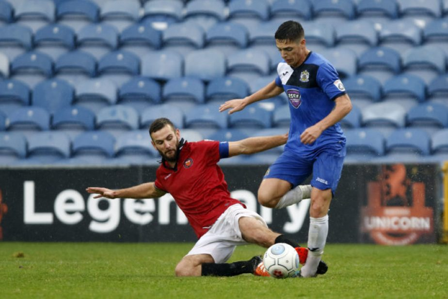 Scott Duxbury, Stockport County 3-3 FC United