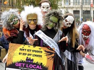 Manchester Credit Union flashmob