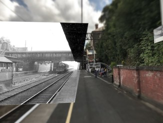 Heaton Chapel station's past and present seen through the Time Tourist app