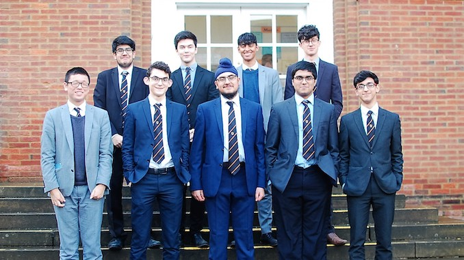 MGS codebreakers star in national competition