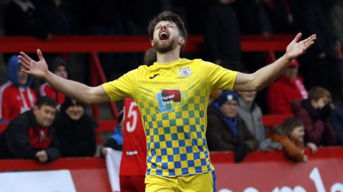 Stockport County striker Oswell in National League North team of the season
