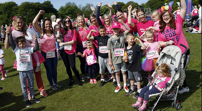 Race for Life kicks off year of fundraising in mum's memory
