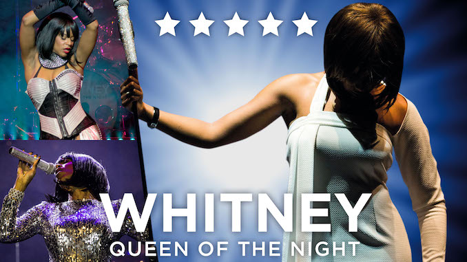 Whitney Houston tribute night at Stockport Plaza