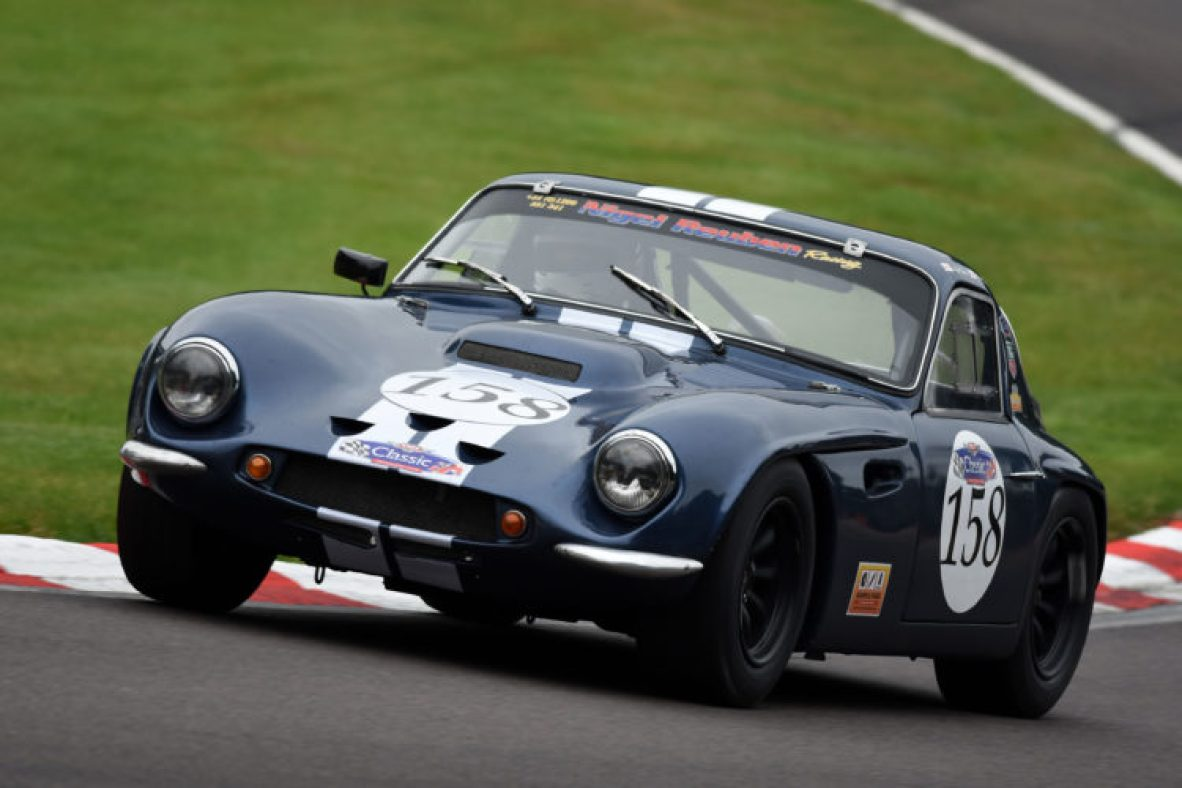 The Reuben's race winning TVR Griffith, at Oulton Park