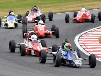 Formula Ford action at Oulton Park