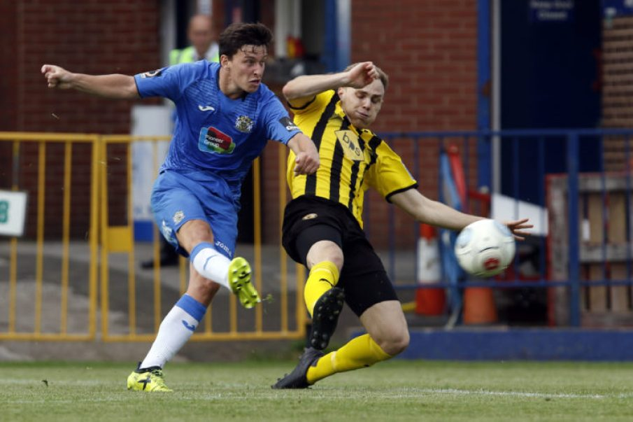 Connor Dimaio. Stockport County FC 3-1 Leamington FC