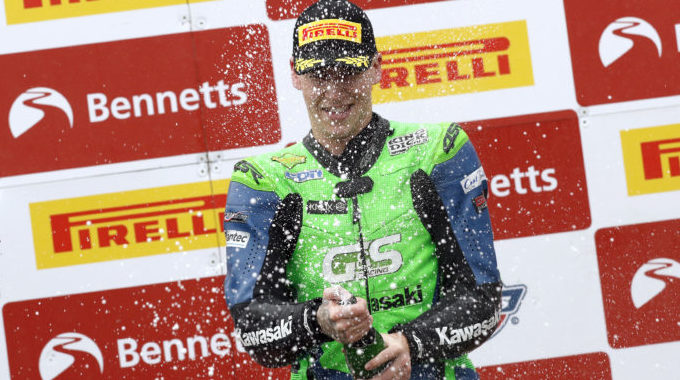 Podium for Luxton at Oulton Park 'home round'