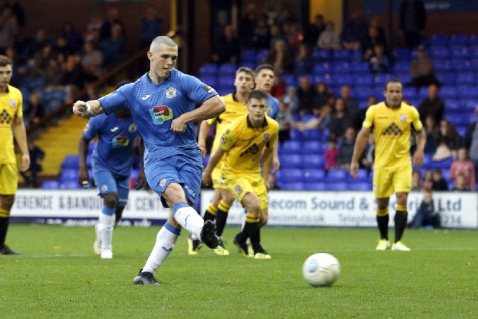 Frank Mulhern, Stockport County 1-1 Hereford
