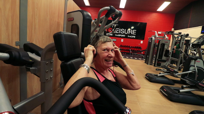 Stockport widow becomes a 'gym addict' at 69