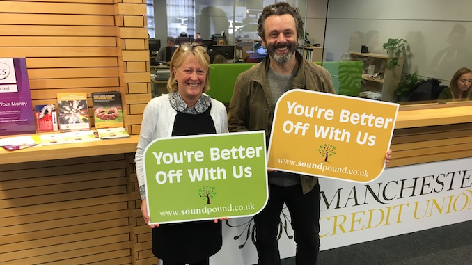 Actor Sheen backs Manchester Credit Union campaign