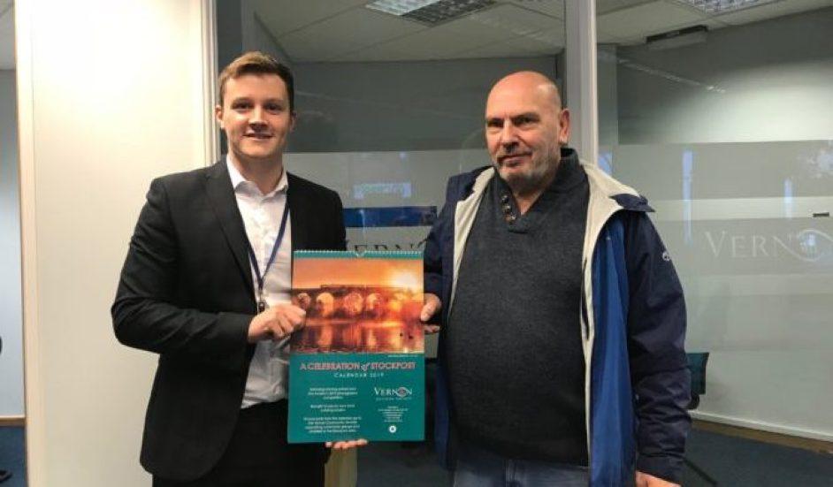 Winner John Varley with Alex Deakin