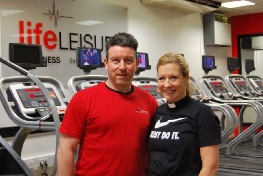Lynn Boyle and Chris Walker