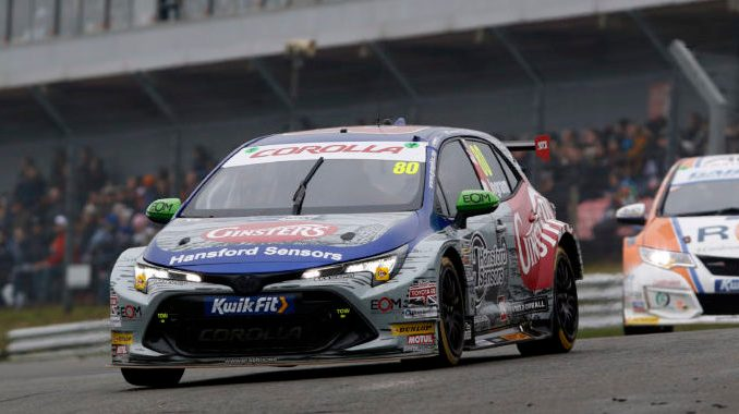Tom Ingram, Team Toyota GB with Ginsters, Speedworks Motorsport, Brands Hatch