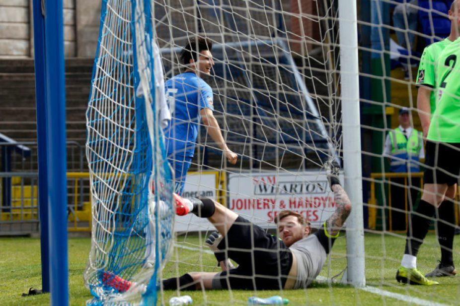 Ash Palmer. Stockport County FC 2-0 Curzon Ashton FC. Vanarama National League North. 22.4.19