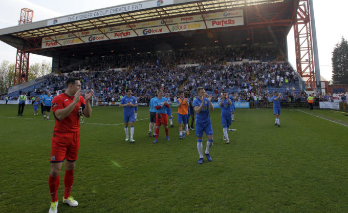 Stockport County one win from National League North title