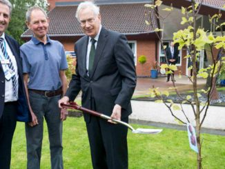 The Duke of Gloucester at St Ann's Hospice