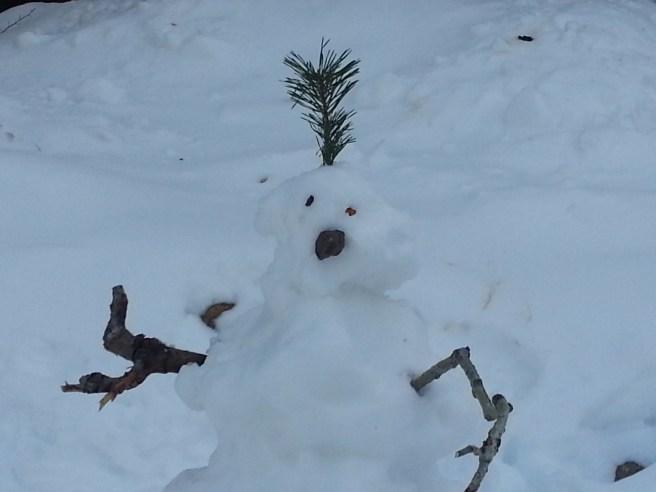 Snowman by southocbeaches.com