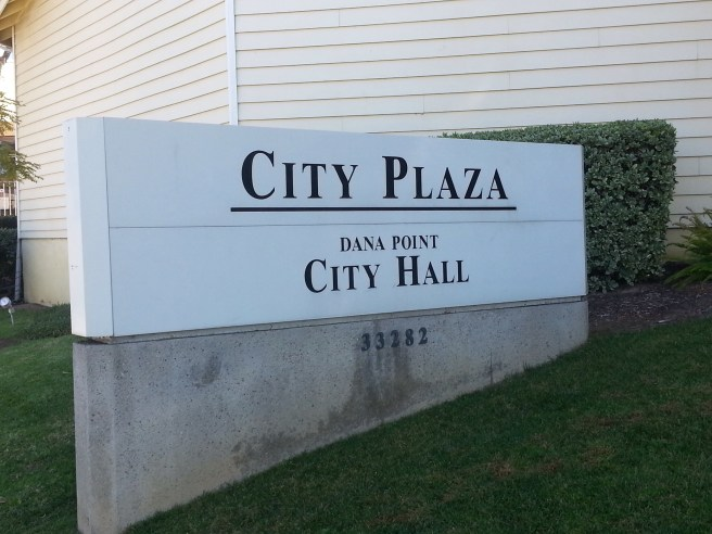 Dana Point City Plaza by SouthOCBeaches.com
