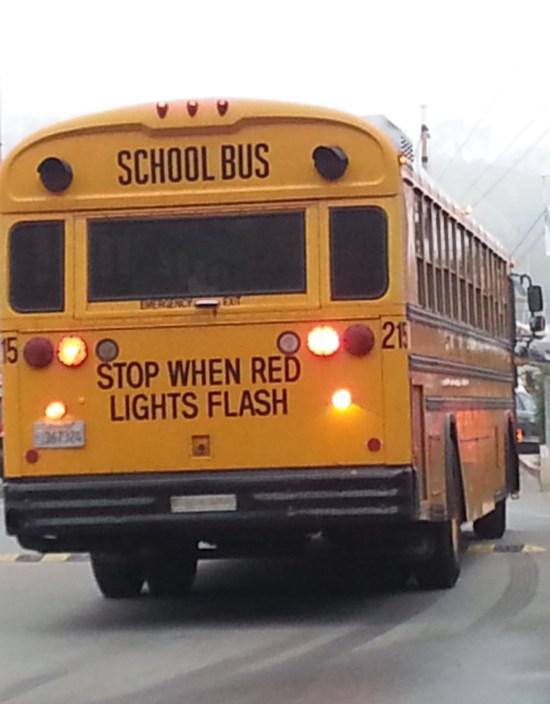 school bus by www.southocbeaches.com