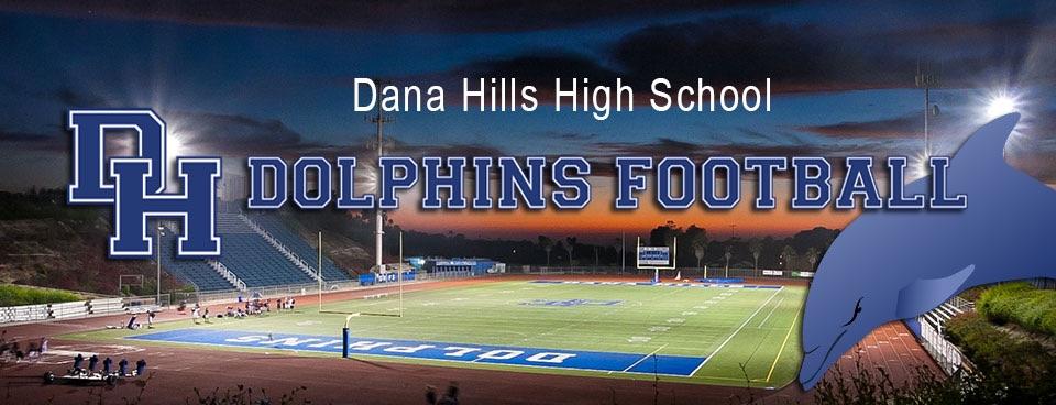 Dana Hills High School Football Red White Blue Game Friday