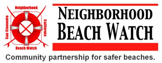san clemente neighborhood beach watch