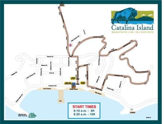 catlaina island marathon march 19 2016 map