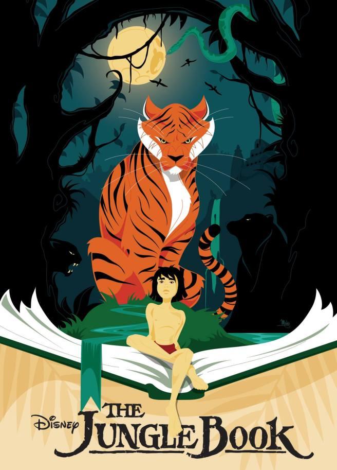 Disney The Jungle Book Mike Mahle Art Courtesy of Dsiney.com