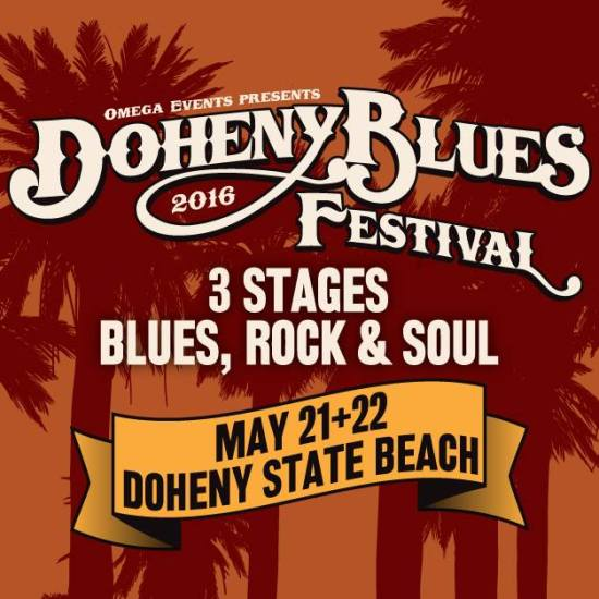 Doheny Blues Festival 2016 Poster