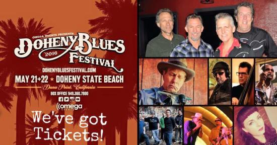 Doheny Blues Festival 2016 Tickets