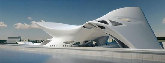 Zaha Hadid Architecture Image Courtesy of http://lagunafriendsarch.com