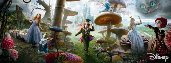 Alice Through the Looking Glass Courtesy of Disney.com