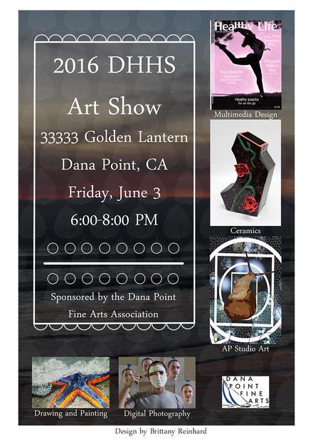 Dana Hills High School Art Show June 3 2016
