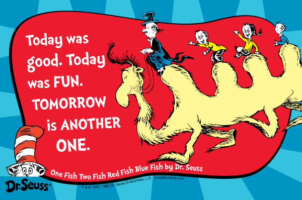 Image Courtesy of Dr. Seuss Enterprises.L.P.