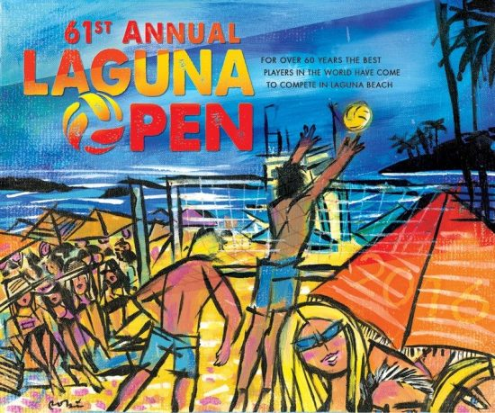 Image Courtesy of Laguna Open 2016 by Artist Robin Hiers
