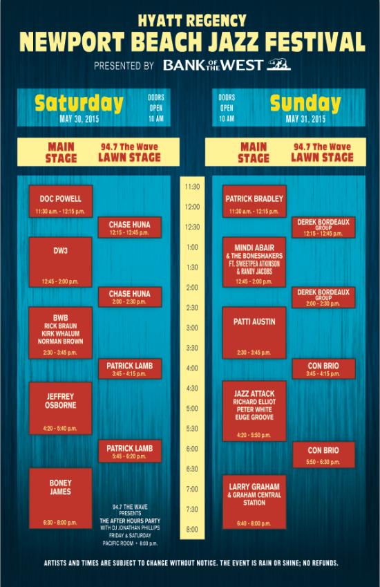 Newport Jazz Festival Lineup June 2016