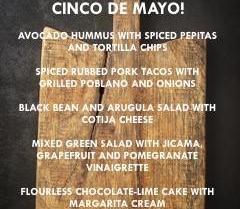 Antoine's Cafe San Clemente California Cinco De Mayo Cooking Class April 27 2017