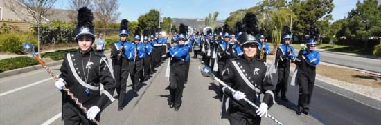 Dana Hills High School Marching Band Courtesy of SOCSARTS.org