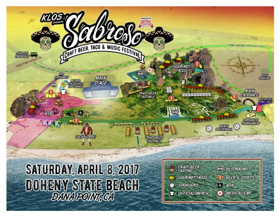 Dana Point Sabroso Map April 8 2017