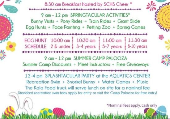 San Clemente Springtacular April 15 2017 Schedule