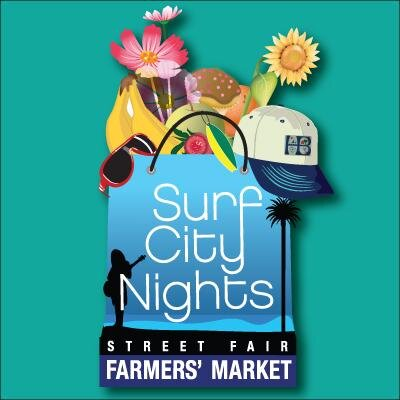 Huntington Beach Farmers Market Courtesy of surfcitynights.com
