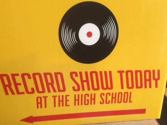 Record Show Day Courtesy of Moldy Toe Records San Clemente California