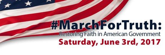 #MarchforTruth June 3 2017