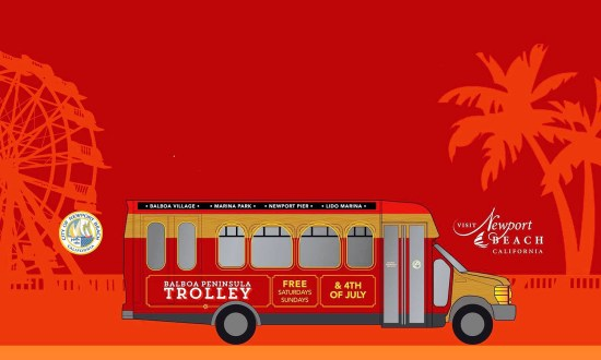 Balboa Peninsula Trolley 2017