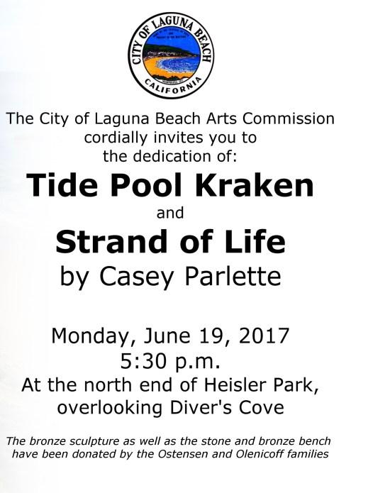 Laguna Beach Art Dedication June 19 2017