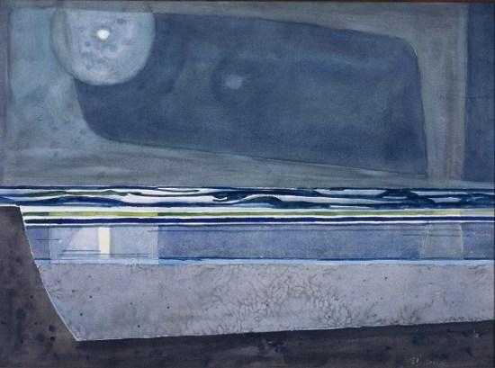Phil Dike, Wave Echo Courtesy of LagunaArtMuseum.org