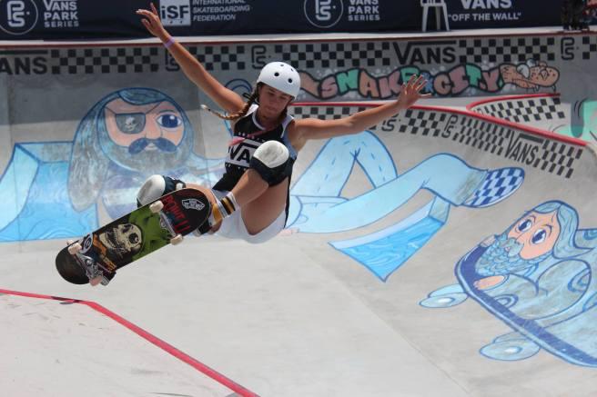 Vans US Open of Surfing Skateboarding Courtesy of Facebook.com:USOpenofSurfing