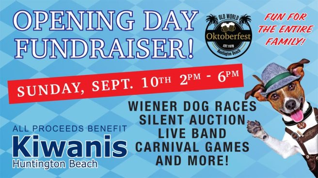 Huntington Beach Old World Oktoberfest Kiwanis Fundraiser September 10 2017