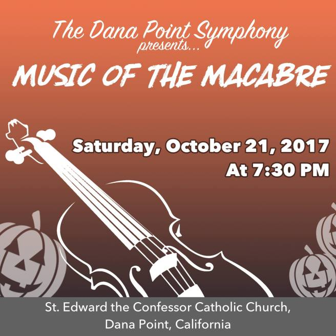 Dana Point Symphony October 21 2017