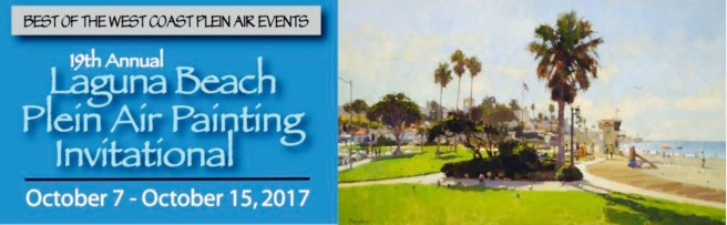 Laguna Beach Plein Air Painting Invitational October 2017