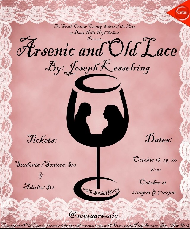 SOCSA Arsenic and Old Lace October 2017